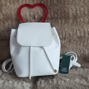 Wild Fable Mini Flap Backpack with Heart Handle